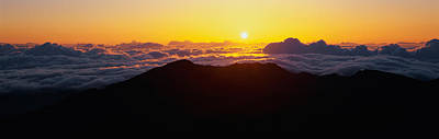 Haleakala National Park Photograph - This Is Sunrise From Haleakala Volcano by Panoramic Images