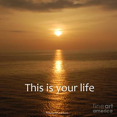 This Is Your Life Art Print by Linda Prewer