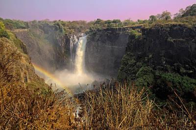 This Is Zimbabwe No.  1 - Thundering Victoria Falls Art Print by Paul W Sharpe Aka Wizard of Wonders
