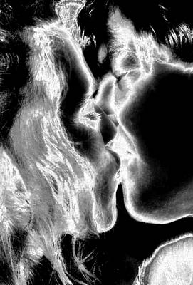 Painting - This Kiss by Rebecca Flaig