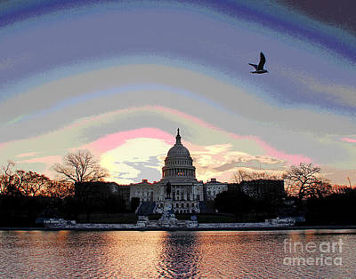 Photograph - This Morning In Dc by Larry Oskin