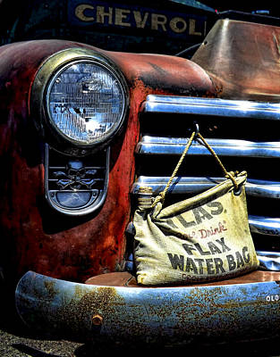 Photograph - This Ol' Chevy by Kristie  Bonnewell