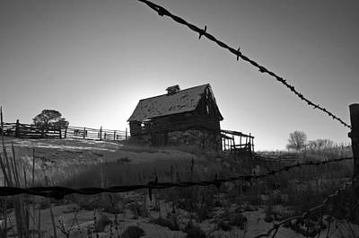 Photograph - This Old Barn by Eric Rundle