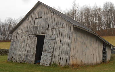 Photograph - This Old Barn Is Falling Down..e-i-e-i-o by Diannah Lynch