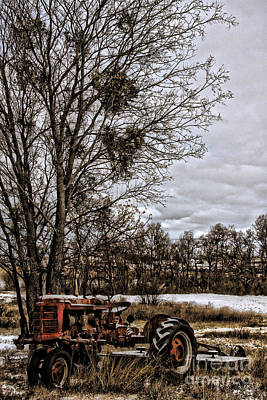 This Old Farmall - No.9669 Art Print