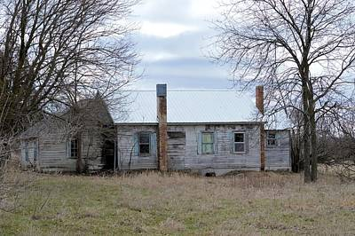Photograph - This Old House 2 by Bonfire Photography