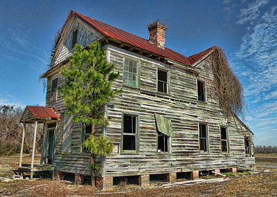 This Old House 2 Art Print by Victor Montgomery