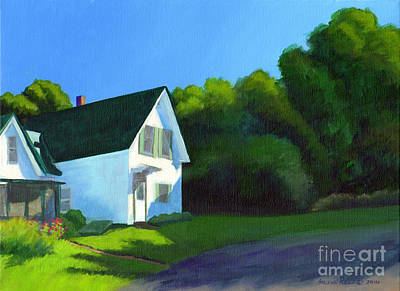 Painting - This Old House by Arlene Kelley