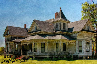 This Old House Art Print by Joan Bertucci