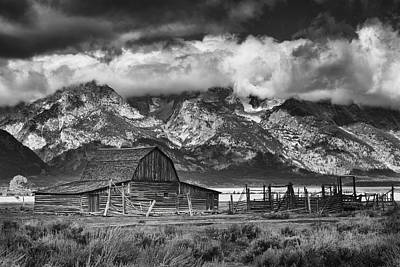 Teton Wall Art - Photograph - This Old House by Mike Lang