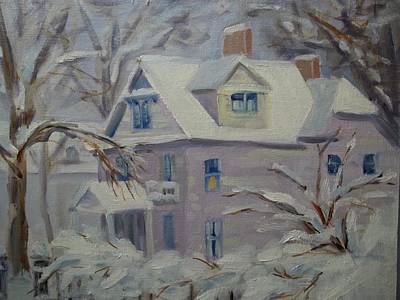 Robert Martin Painting - This Old House by Robert Martin