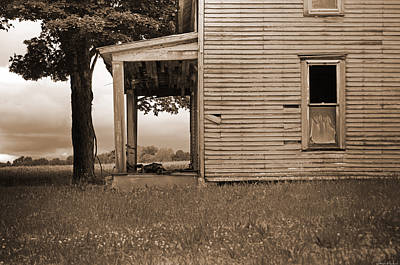 Wood Siding Photograph - This Old House by Steven Michael