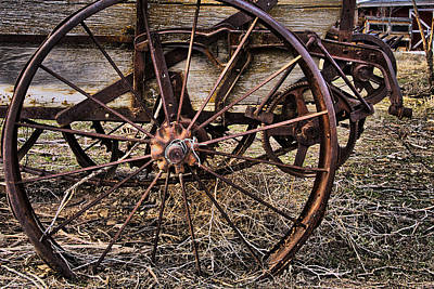 Photograph - This Old Spreader  by Eric Rundle