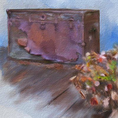 Painter Digital Art - This Old Trunk by Dale Stillman