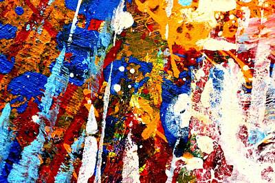 Abstract Expressionism Painting - This Painting Has A Life Of Its Own I by John  Nolan