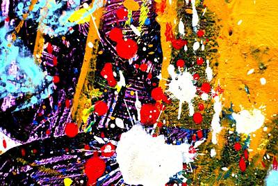 Abstract Expressionism Painting - This Painting Has A Life Of Its Own II by John  Nolan