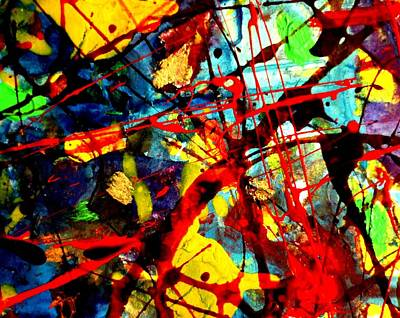 Abstract Expressionism Painting - This Painting Has A Life Of Its Own Vi by John  Nolan