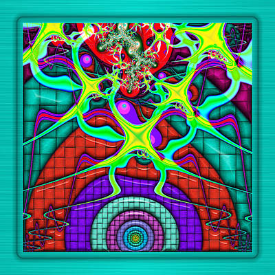 Digital Art - This Rough Magic 1 by Wendy J St Christopher