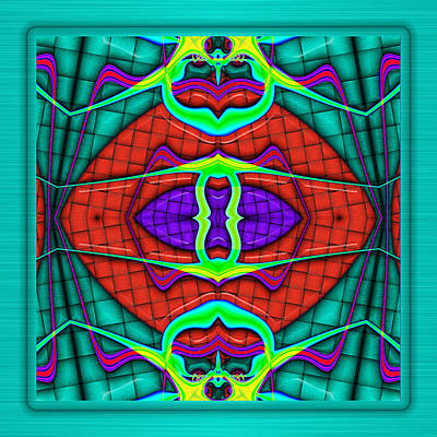 Digital Art - This Rough Magic 2 by Wendy J St Christopher