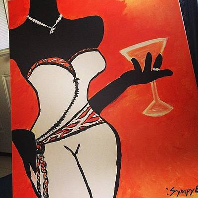 Martini Wall Art - Photograph -  'sophisticated'  by Brittany Mance