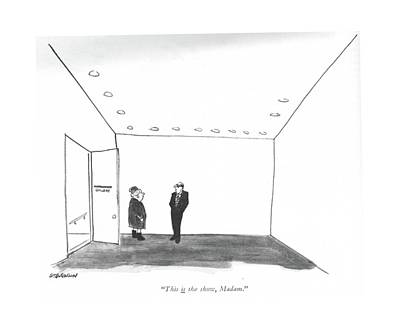 Director Drawing - This <u>is<$> The Show by James Stevenson