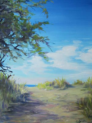 Painting - This Way To The Beach by Sharon Sorrels