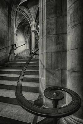 Stone Steps Photograph - This Way Up by Christopher Budny