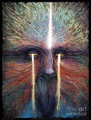 This World Weeps For A Spiritual Awakening Art Print