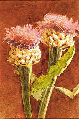 Painting - Thistle by John Singer Sargent