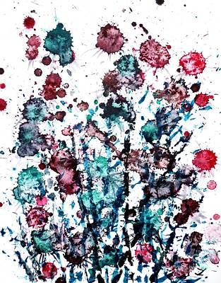 Thistle Art Print by Zaira Dzhaubaeva