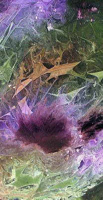 Thistlewood Panel Art Print by Chris Morningforest