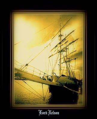 Th'lord Nelson Art Print by Ritchard Mifsud
