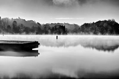 Photograph - Thom-a-lex Misty Morning Bw by Patrick M Lynch