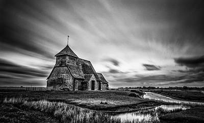 Romney Photograph - Thomas A Becket Church by Ian Hufton
