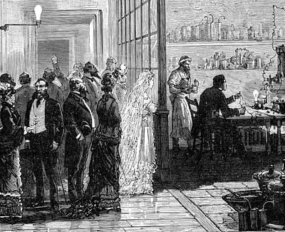 Thomas Alva Edison Art Print