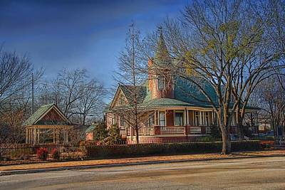 Photograph - Thomas And Mattie Brown House by Dyle   Warren