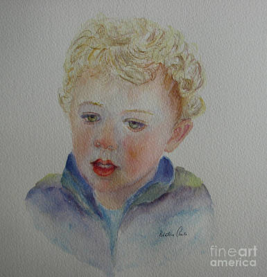 Painting - Thomas by Beatrice Cloake