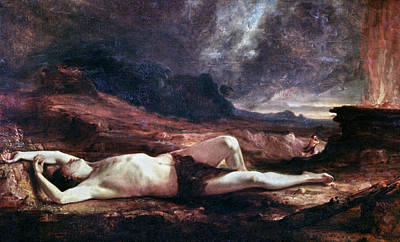 Cain Painting - Thomas Cole The Dead Abel by Granger
