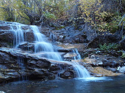 Photograph - Thomas Creek Falls by Jenessa Rahn