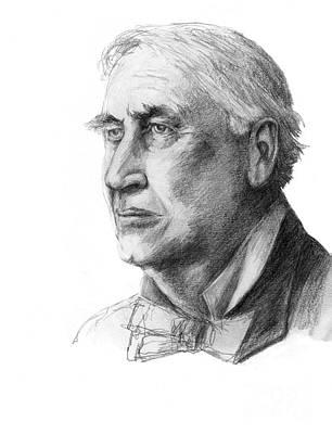 Thomas Edison, American Inventor Art Print