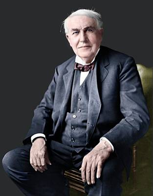 Thomas Edison Art Print