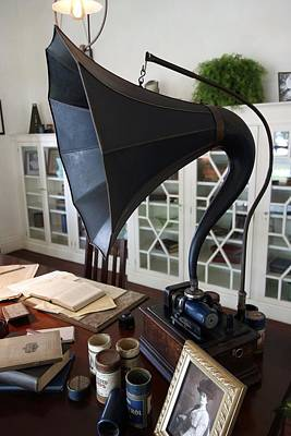 Photograph - Thomas Edison's Gramophone by Joan Reese