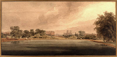 Westminster Abbey Drawing - Thomas Girtin, British 1775-1802 by Litz Collection