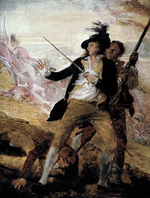 Minuteman Painting - Thomas Grosvenor, 1775 by Granger
