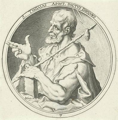 Heart Stone Drawing - Thomas H, Zacharias Dolendo, Jacob De Gheyn II by Zacharias Dolendo And Jacob De Gheyn (ii)