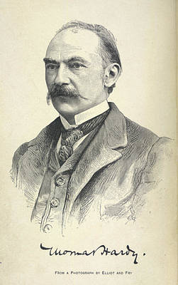 Hardy Photograph - Thomas Hardy by British Library