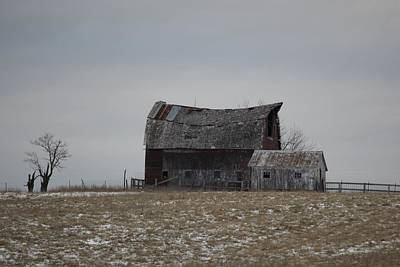 Photograph - Thomas Hill Barn by Kathy Cornett