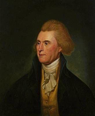 Thomas Jefferson, 1776 Print by Charles Willson Peale