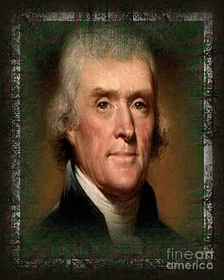 Photograph - Thomas Jefferson by Don Melton