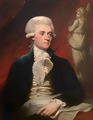 Thomas Jefferson Painting - Thomas Jefferson by Mountain Dreams